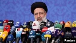 Tân Tổng thống Iran Ebrahim Raisi.