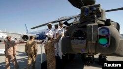 امریکی کمپنی 'بوئنگ' کا تیار کردہ اپاچی جنگی ہیلی کاپٹر