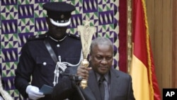 Ghana President John Mahama (file photo)