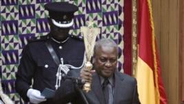 Ghana President John Mahama (file photo)