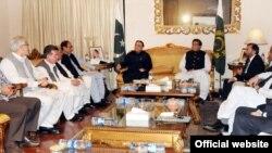 صدر اور وزیراعظم کی زیر صدارت اتحادی جماعتوں کےرہنماؤں کا اجلاس