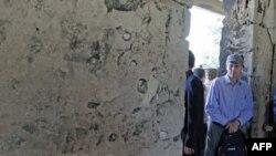 Սիրիայում ԱՄՆ-ի դեսպան Ռոբերտ Ֆորդը` երկրում կատարված իր այցերից մեկի ընթացքում (արխիվային լուսանկար)