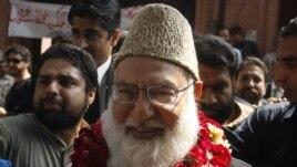 Marigayi Qazi Hussain Ahmed, tsohon shugaban jam'iyar Jamaat-e-Islami ta kasar Pakistan