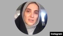 خانم شهیدی این عکس را روی اینستاگرام خود با خبر آزادی خود منتشر کرده است.