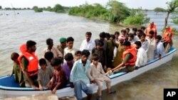 سیلاب ها در پاکستان در حدود یک میلیون نفر را متاثر ساخته است