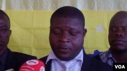 Carlos Lucas, secretário executivo em Malanje