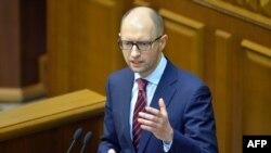 乌克兰新任总理亚采纽克。