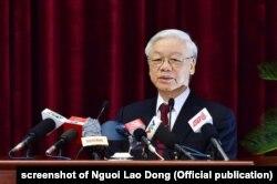 """Tổng bí thư Nguyễn Phú Trọng hồi giữa năm 2018 nói kê khai tài sản cán bộ là """"vấn đề nhạy cảm"""""""