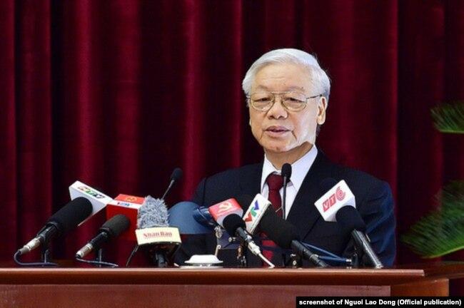 Tổng Bí thư ĐCS Việt Nam Nguyễn Phú Trọng từng cảnh báo về mặt trái của nhất thể hóa