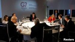Các nhà ngoại giao cấp cao của G7 tham dự cuộc họp hôm 6/4.