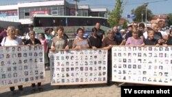 Međunarodni dan nestalih obeležen je protestima u Gračanici