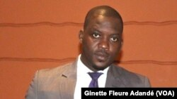 Guy Mitokpè à Cotonou, Bénin, le 16 août 2018. (VOA/Ginette Fleure Adandé)