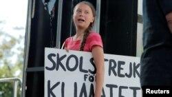 Foi a expressão usada por Jair Bolsonaro para se referir à activista sueca