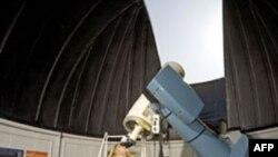 Школьники в Публичной обсерватории