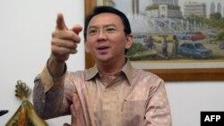 Gubernur Jakarta non-aktif, Basuki Tjahaja Purnama atau Ahok, dinyatakan sebagai tersangka kasus penistaan agama (foto: dok).