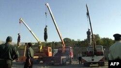 Казнь в Иране. Архивное фото.