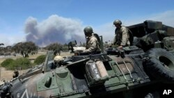 En noviembre de 2013, cuatro marines murieron allí mientras despejaban explosivos en una zona de entrenamiento de Camp Pendleton.