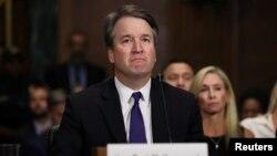 Sudija Bret Kavano tokom svedočenja u Senatu