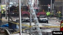 BRITAIN-HELICOPTER/CRASH