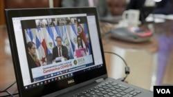 Secretario General del SICA, Vinicio Cerezo participó en tanto en la reunión de jefes de Estado y cancilleres. [Foto: Presidencia de Costa Rica]