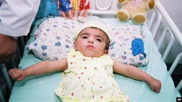 Sebuah laporan baru yang dipublikasikan oleh Buletin Toksikologi dan Pencemaran Lingkungan mendapati bahwa tingkat cacat lahir di Fallujah naik dari 2% tahun 2001 menjadi 50% tahun 2007 (foto: Dok).