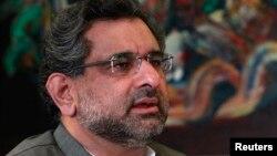 وفاقی وزیر شاہد خاقان عباسی