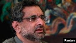 وفاقی وزیرِ پیٹرولیم شاہد خاقان عباسی