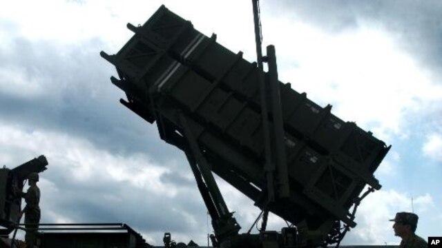 Misil udara milik Taiwan dalam sebuah latihan militer di Wanli, pantai utara negara itu. (Foto: Dok)