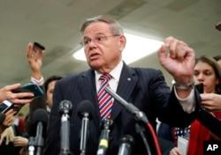 Senator Bob Menendez (Foto: AP/Pablo Martinez Monsivais)