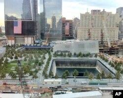 纽约世贸中心旧址9/11国家纪念园