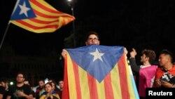 Según las autoridades catalanas, los resultados preliminares de la consulta mostraron que el 90% de los votantes votó a favor de la independencia.