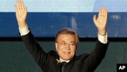 南韓新總統文在寅