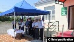 Sabirabadın Qudacuhur kəndiində yeni tibb məntəqəsi