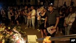Панихида по погибшим. Киев. 17 июля 2014г.