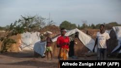 Campo de deslocados 25 Junho, Metuge, Cabo Delgado, Moçambique