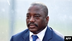 FILE - Democratic Republic of the Congo President Joseph Kabila, Feb. 3, 2015