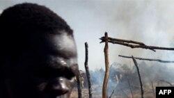 Район Бентіу в Південному Судані після рейду суданських літаків