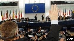 Biểu quyết tại nghị viện châu Âu (ảnh tư liệu)