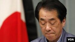 El saliente primer ministro de Japón, Naoto Kan, defendió su gestión durante la crisis generada por el terremoto y tsunami.