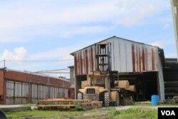 海沃斯木材厂(美国之音龚小夏 拍摄)