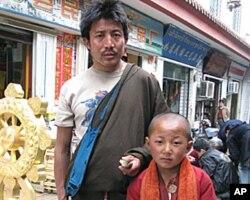 四川的藏人(资料照片)