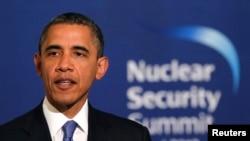 美国总统奥巴马在韩国首尔出席核安全峰会(2012年3月25日)