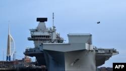 Авіаносець HMS Queen Elizabeth, червень 2019
