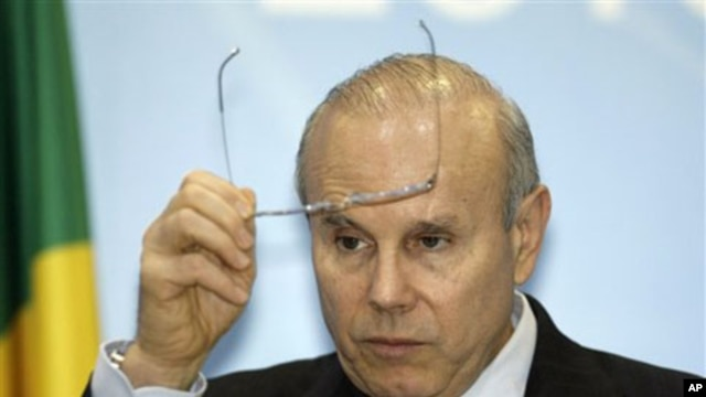 Brazil's Finance Minister Guido Mantega (file photo)