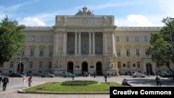 Universidade de Lviv, Ucrânia, onde estão alguns estudantes angolanos bolseiros do INAGBE