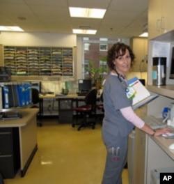 Registered Nurse Neysa Ernst of Johns Hopkins says nurse depictions on TV don't reflect reality.