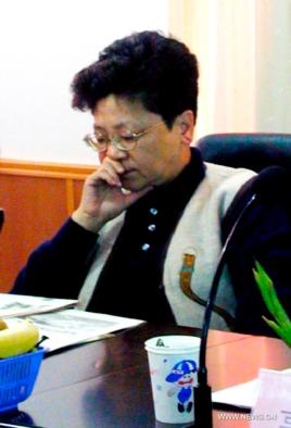 中国逃美贪官杨秀珠 (作者提供)