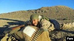 یکی از نیروهای سپاه که در سوریه کشته شده است