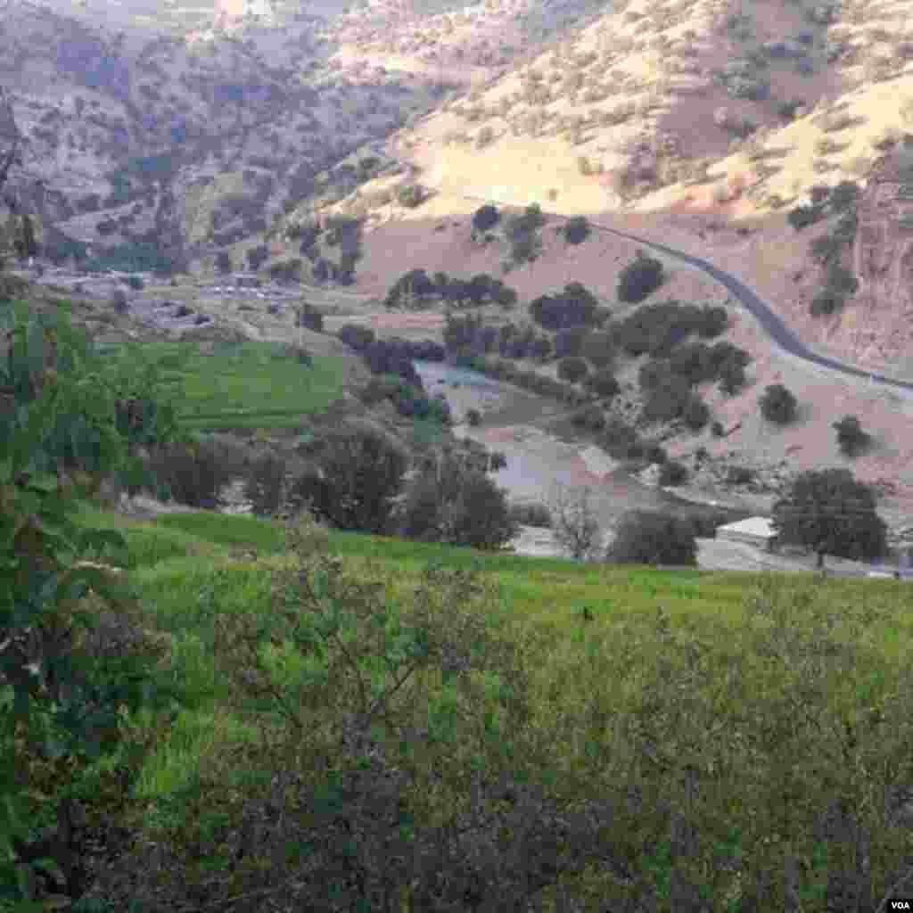 روستای جوزستان، چهار و محال بختیاری عکس: رمضان محمدی جوزستانی (ارسالی شما)