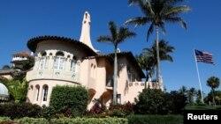 佛羅里達州特朗普總統擁有的海湖莊園。
